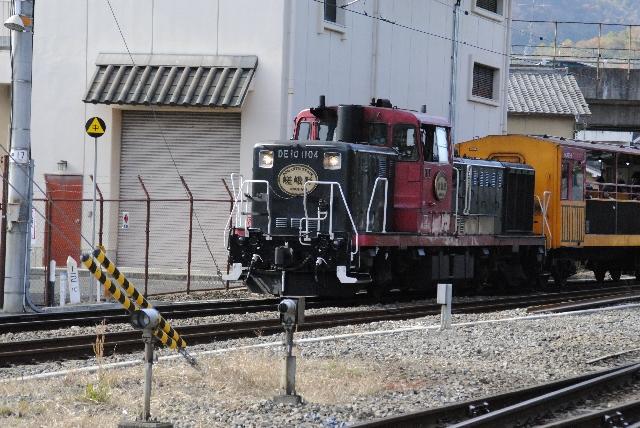 嵯峨野トロッコ列車イメージ