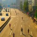 マラソンレースイメージ