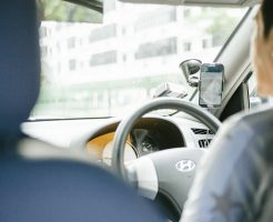 タクシー運転手との会話イメージ